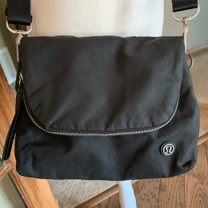 Fabulous Black Lululemon crossbody bag